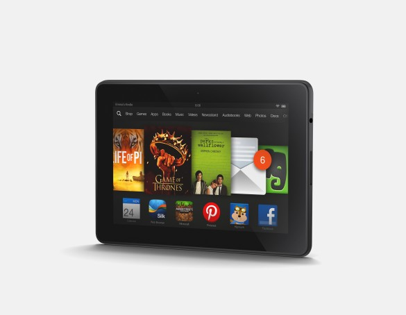 Kindle Fire HDX LandscapeAngle Left