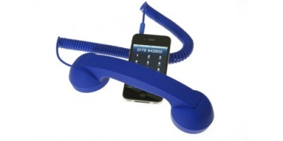 Native Union Pop Phone wired handset.
