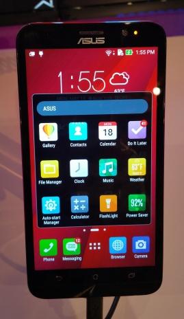 Asus Zenfone 2 Android 5.0 smartphone.